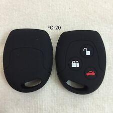 Silicone Key Cover For Ford Fiesta / Figo / Fusion Remote Key