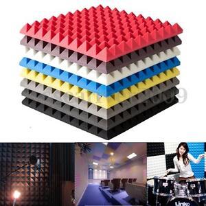 Akustik-Noppenschaum-Daemmung-Schallschutz-Pyramiden-Schaumstoff-30cmx30cmx5cm-PD