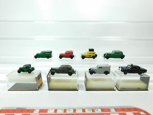 BH62-0-5-8x-Brekina-H0-1-87-PKW-DKW-F7-Opel-P4-BMW-Dixi-MB-Taxi-etc-s-g-4x-OVP