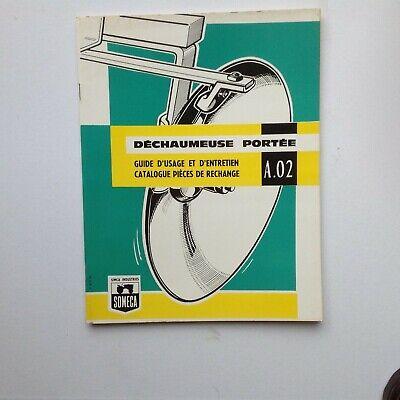 Fast Deliver Someca Déchaumeuse Portée À.02 Guide D'usage /d'entretien catalogue Pièces Wide Varieties Manuels, Revues, Catalogues