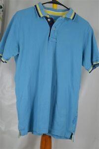 Boden-London-Small-Blue-Polo-Men-039-s-Shirt