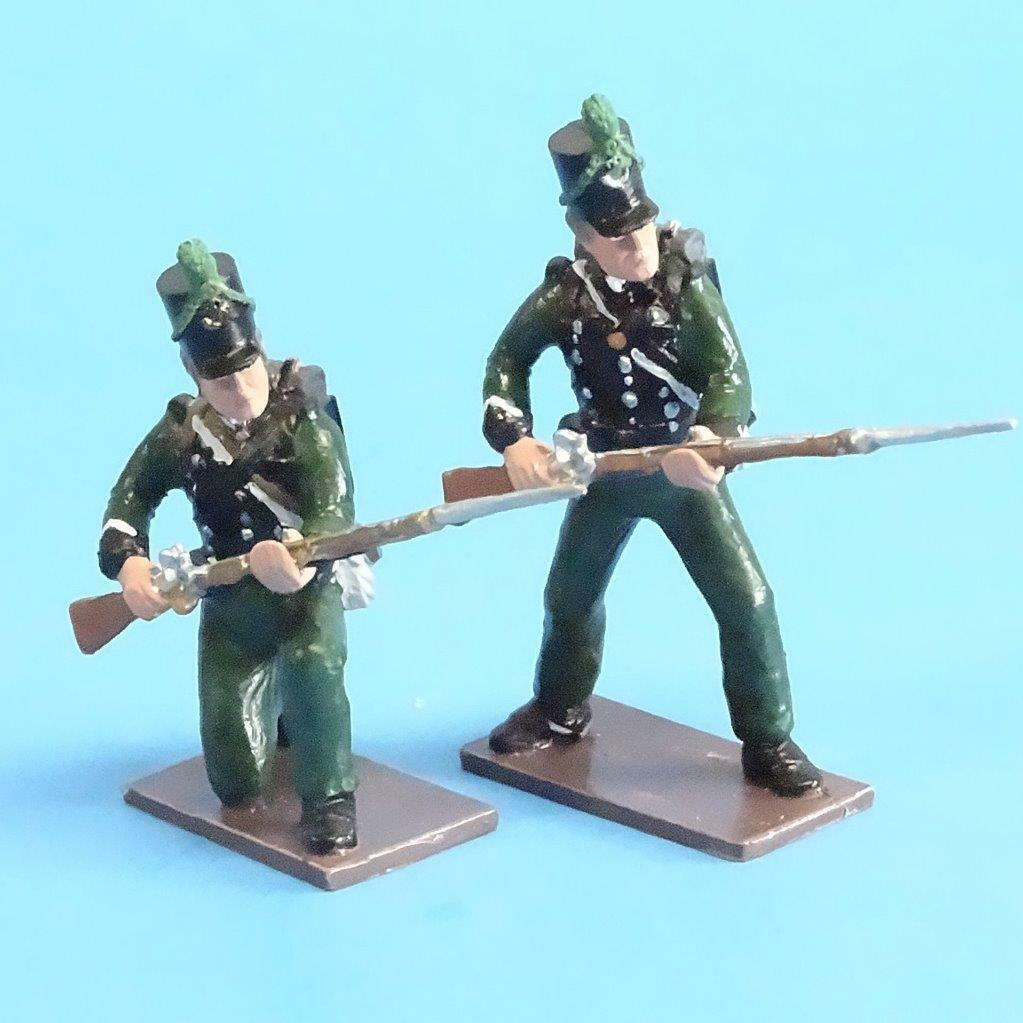 CORD-N0109 - 95th Rifles - (2 Pieces) - Napoleonics - Soldiers of the World