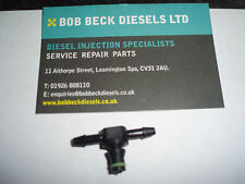FORD BMW PEUGEOT BOSCH INJECTOR DIESEL LEAK OFF PIPE CONNECTOR. 180 I