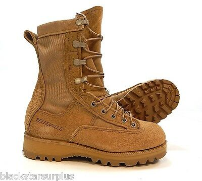 Temperate Weather Waterproof Leather Military Boots (GORE-TEX, Sizes 2-16)
