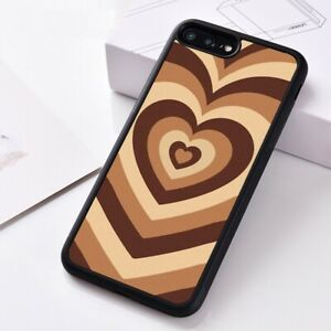 Silicone-Phone-Case-Cover-For-iPhone-XS-6-7-8-11-Pro-MAX-Latte-Love-Coffee-Heart