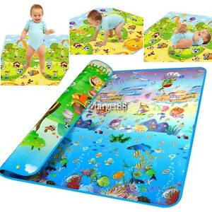 Baby Kid Toddler Play Crawl Mat Carpet Playmat Foam Blanket Rug for In/Out UTAR