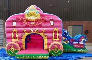 Princess carriage bouncy castle amp slide Made To Order - leeds, West Yorkshire, United Kingdom - Princess carriage bouncy castle amp slide Made To Order - leeds, West Yorkshire, United Kingdom
