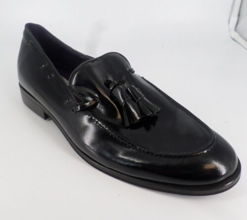 43 Size Loafer's 04 Smart Nh086 Uk Pp Eu Successivo 9 Tassel Uomo Black zZFqSSXx