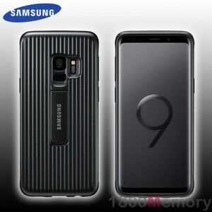 new products ddeff e8d6a Details about GENUINE Samsung Galaxy S9 SM-G960 Protective Standing Cover  Case Black