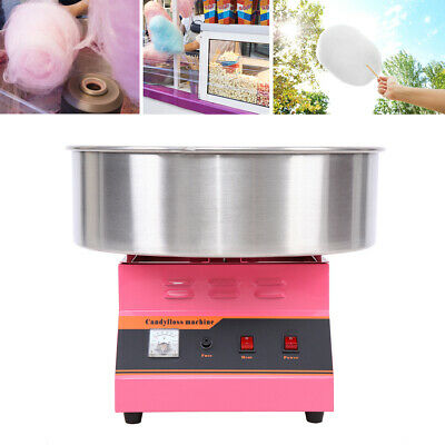1300W Macchina Zucchero Filato Cotton Candy Elettrica Floss Maker commerciale CE