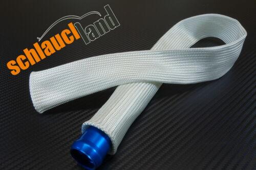 1m FITEX Hitzeschutzschlauch ID 10mm ***Kabelschutz Turbo Mantel Gewebe Schlauch