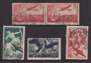 France-circa-1940-AIR-stamp-group