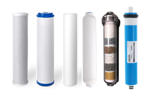 Alkaline Replacement RO Filters /& 75 GPD Membrane for 6 Stage Reverse Osmosis
