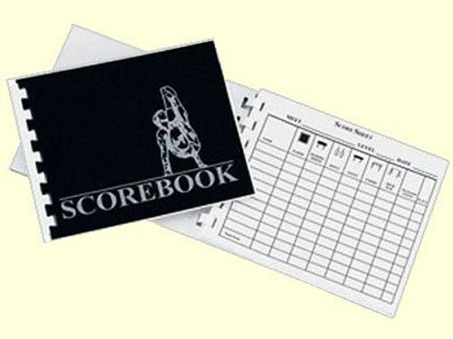 Men's Gymnastics 40 Page Scorebook Score Book - KEEP TRACK OF ALL EVENTS