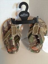 Team Real Tree Lil Drake Medium Camouflage Toddler Flip Flops NWT