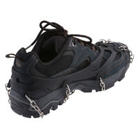 Ice Non Slip Shoe Grip Boots Chain Ice Spike Cleats Overshoes Studded Shoe Boot