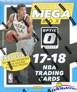 2017-18-Panini-Donruss-OPTIC-Basketball-HUGE-EXCLUSIVE-Factory-Sealed-MEGA-Box