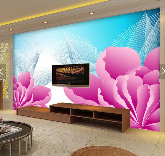 3D Blumenmuster 688 Tapete Tapeten Mauer Foto Familie Tapete Wandgemälde DE