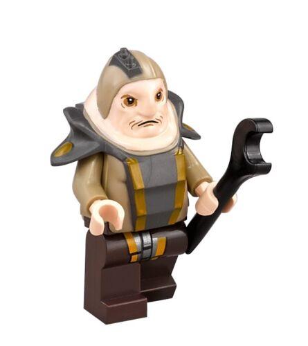 LEGO STAR WARS Unkar Plutt MINIFIG new from Lego set 75148 Encounter on Jakku