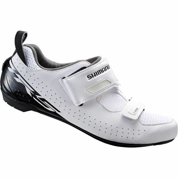 Shimano TR5 SPD-SL shoes, white, size 50