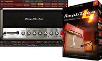 Ik Multimedia Amplitube 4 Guitar Bass Amp Fx Modeling Cubase Plug In Pc/mac