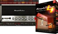 Ik Multimedia Amplitube 4 Guitar Bass Amp Fx Pro Tools Plug In Win/mac