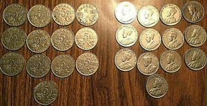 SET-OF-GEORGE-V-NICKEL-5-CENTS-COIN-All-years-except-keydates-1925-1926