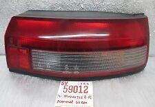 1990-1991 Mazda 323 Right Passenger Genuine OEM tail light 12 1E2