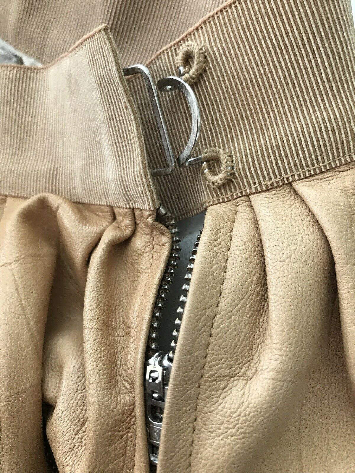 3.1 phillip lim  Lamb Leather Skirt