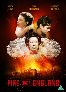 Fire-Over-England-DVD-2016-Laurence-Olivier-Howard-DIR-cert-U-NEW