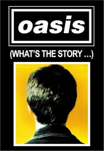 """0770 Vintage Arte Cartel De Música-Oasis/"""" cuál es la historia/"""""""