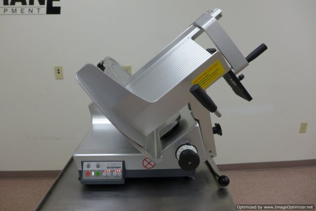 2015 Bizerba GSP-HD Automatic Gravity Meat Cheese Deli Slicer, Sharpener, Hobart