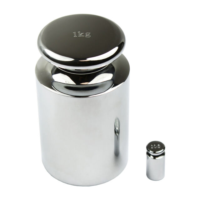 Chrome Scale Calibration Weight HFS 2000G R