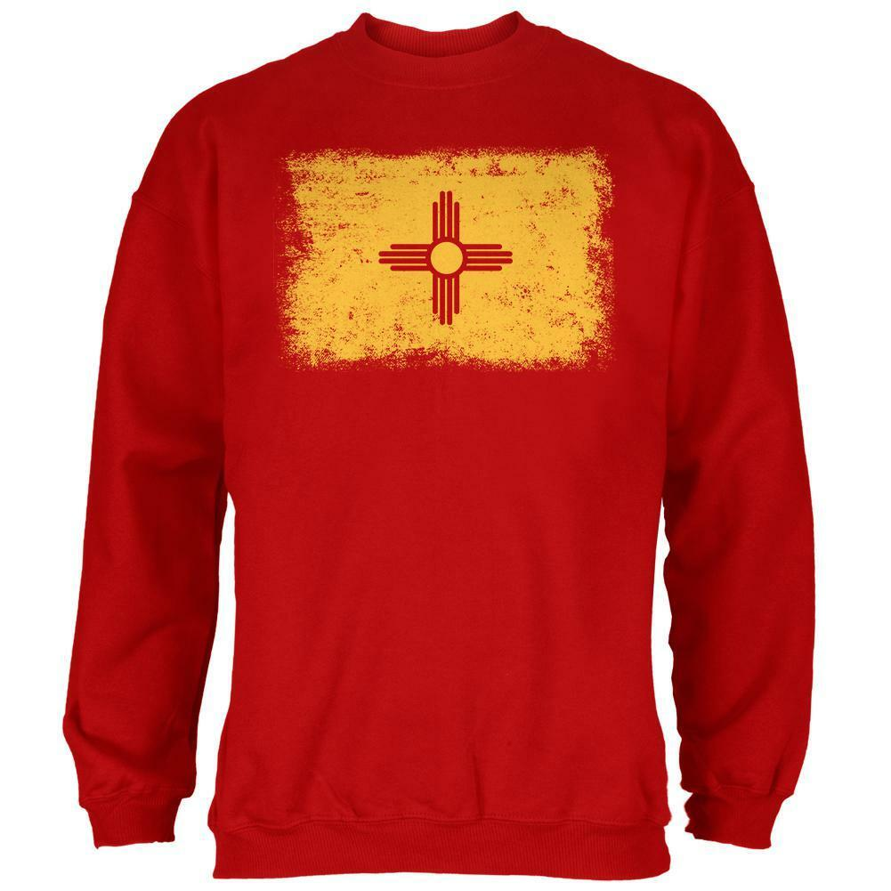 Born and Raised New Mexico State Flag  Herren Sweatshirt