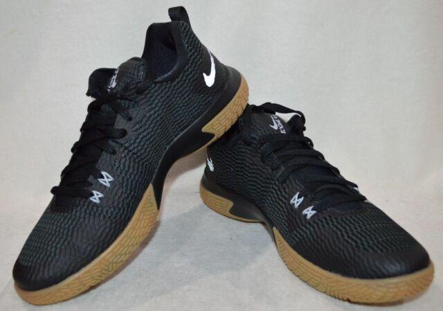 the latest badf6 2ea37 Nike Zoom Live II Black R-Silver Men s Basketball Shoes-Size 12 NWOB