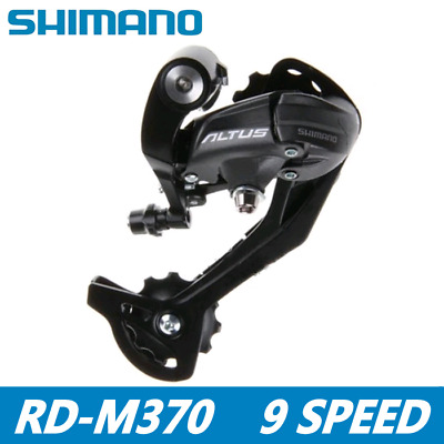 Shimano Altus RD-M370 7//8//9speed Rear Derailleur MTB Bicycle Bike SGS