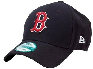 New-Era-Sox-di-Boston-Rosso-The-League-Velcroback-9forty-Berretto-Regolabile