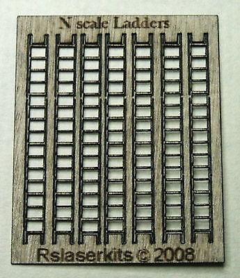 10 castings require painting P/&D Marsh N Gauge n Scale B155 Ladders