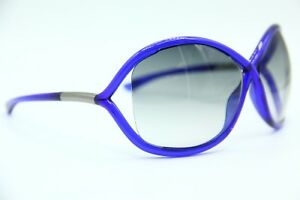 ddaae7bba4 NEW TOM FORD TF9 90B WHITNEY BLUE AUTHENTIC FRAME SUNGLASSES 64-14 W ...