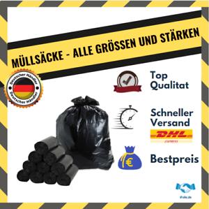 ✅  Nirgendwo Günstiger ✅ 35L, 60L, 120L, 200L, 240L STARK Müllsäcke Müllbeutel
