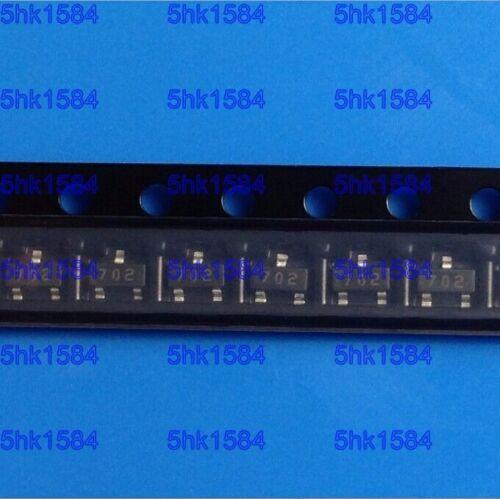 100PCS MOSFET ONSEMI//FAIRCHILD SOT-23-3 2N7002 2N7002LT1 2N7002LT1G 2N7002TA 702