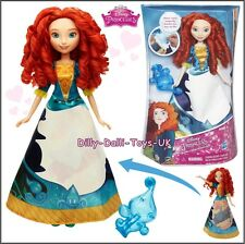NEW Disney Princess Merida Doll Magical Story Skirt Water Wand Activated Brave