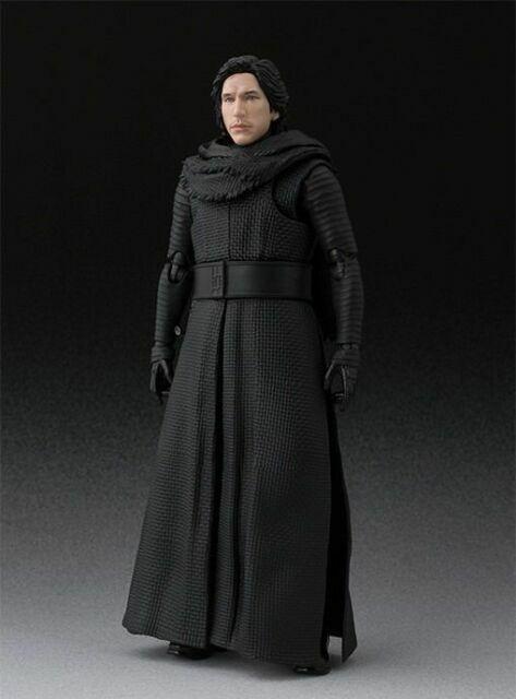Figure BANDAI NEW S.H.Figuarts Star Wars KYLO REN THE FORCE AWAKENS Unmasked