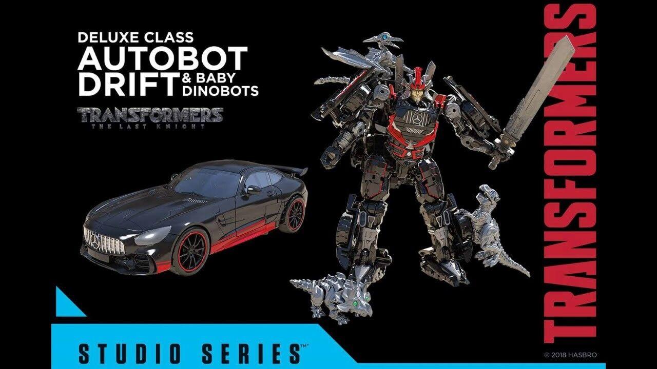 TRANSFORMERS Generations Movie Studio Series 036 Deluxe Drift Baby Dinobot Dinobot Dinobot 4pcs 6520bd