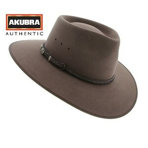 ae9da0ac Image is loading NEW-Akubra-Cattleman-Australian-Made-Fawn-Coloured-Hat