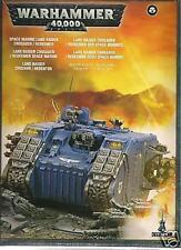 Warhammer 40,000 Space Marine Land Raider Redeemer Crusader Tank GAW 48-30