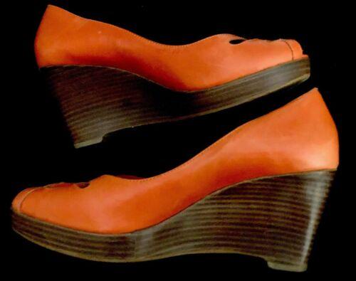devantcoupe orange bout découpes ouvert le m compensée po40 sur cuir profond à Carvela de 4 et en Nk0wO8PXZn