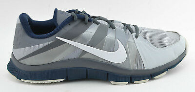 low priced dce79 adcfc MENS NIKE FREE 5.0 RUNNING RUN SHOES SIZE 12.5 GRAY NAVY BLUE 522351 041 12  1/2 | eBay