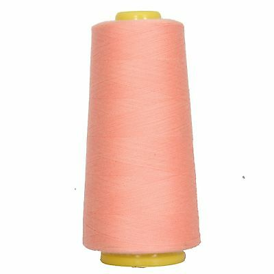 SEWING SERGER THREAD SPUN POLYESTER HUGE 2750 YD CONES 40/2 TEX 27