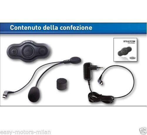 INTERFONO INTERPHONE MOTO BLUETOOTH BTEASY X CASCO CASCO JET//INTEGRALE//MODULARE